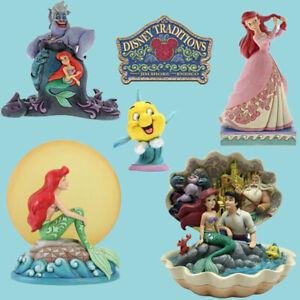 Range of Disney Traditions Ariel Little Mermaid Figurines Figures New Boxed