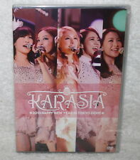KARA KARASIA 2013 HAPPY NEW YEAR in TOKYO DOME Taiwan Ltd 2-DVD