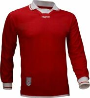 Avento Red Long Sleeve Football Shirt Size L/XL  brand new tagged RRP £15.99