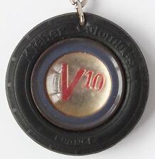 VINTAGE KLEBER COLOMBES V10 FRANCE KEYRING c1950's / 60's. UK DISPATCH