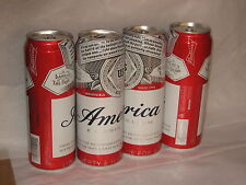Budweiser America commemorative beer can 2017 25 oz cans