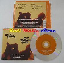 CD LAST TANGO IN PARIS O.S.T. MARLON BRANDO 1998 RYKO USA NO(Xi3) lp mc dvd