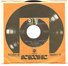 Ray Charles: Till I Can't It Anymore SOUL 45 ABC/Tangerine UNPLAYED STORE STOCK