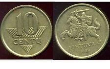 LITUANIE 10 centu 1998   ANM  ( bis )