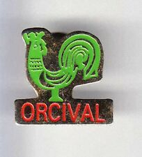 RARE PINS PIN'S .. ANIMAL OISEAU BIRD COQ ROOSTER ORCIVAL FRANCE ~BG