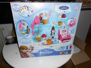 🔥 Disney Frozen 2 Ice Cream Factory Smoby play shop ---NEW