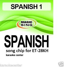 SPANISH CHIPS for Enter Tech Entertech Magic Sing Mic On Stage ET28KH