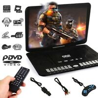 13.9'' LCD Widescreen DVD Player Movie TV Player w/Game Joystick+Remote control