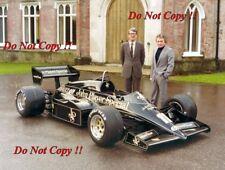 Peter Warr & Gerard Ducarouge JPS Lotus 95T Pre Season 1984 Photograph