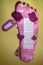 Handcrafted Organic HERBAL Natural Nettles & Rose Petals Foot Spa Soak FEET gift