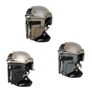 Airsoft SPT Mesh Mask Sparta Tactical Mask AF Helmet Mask TMC2671 CB/BK/RG
