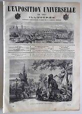 L'Exposition Universelle Illustrée n°37- 1867 : La manufacture de Sèvres