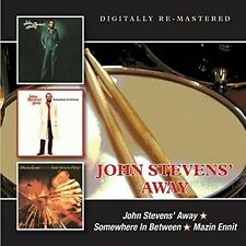 John Away Stevens - John Stevens Away/Somewhere in Between/Mazin Ennit [New CD]