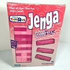 Jenga Girl Talk Edition Exclusive Toys r Us Pink 2007 Parker Bros. Blocks in Box