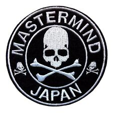 MMJ skull MASTERMIND Japan Appliques Embroidery Iron On Patch