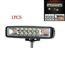 2400LM White Amber Warning Flash Strobe Work Light for Car Truck Motor 12/24V X1