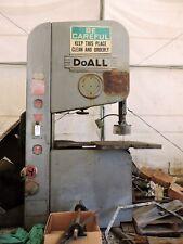 Doall 36 Vertical Bandsaw Mdl Zw 3620 Zephyr 230460v 3ph