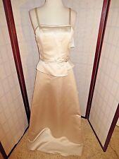 SCOTT MC'CLINTOCK TAN JEWELED DRESS SIZE 8 *NWT* $148