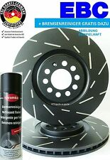 EBC Tablero Negro Discos de freno VW RANDY 280mm 2.9 VR6 BEL. delant. GOLF VENTO