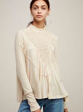 150400 Free People New Romantics Lena Ruched Dolman Sleeve Blouse Top X Small XS