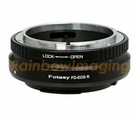 Canon FD Lens to Canon EOS RF Mount R RP R5 R6 Mirrorless Camera Adapter