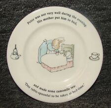 Peter Rabbit Wedgwood Small Plate Frederick Warne Made in England 1993