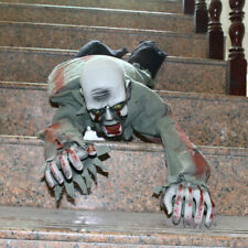 Horrfic Halloween Electric Crawling Zombie Ghost Haunted House Decor Prop