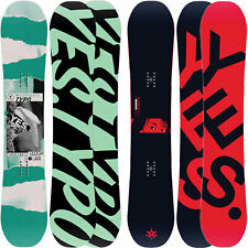 YES Typo Men's Snowboard all Mountain Freestyle Freeride 2020-2021 New