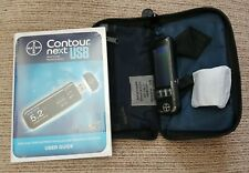 Bayer Contour Next USB Blood Glucose Diabetic Monitoring System/Monitor/Meter