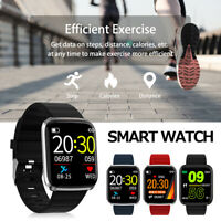 116 Pro Montre Smart Watch Connectée Intelligent Bluetooth Barcelet Silicone ME