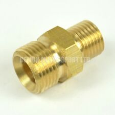 Pressure Washer Jet Wash 3/4 male to 1/2 male BSP Connector Joiner