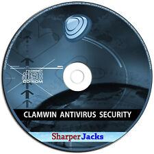 Nuevo & Nave Rápida! Clamwin Antivirus & Anti Espía Software - Windows Discos