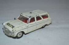 Corgi toys 419 Ford Zephyr Motorway Patrol Dutch Politie unboxed good condition