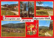 Aimbach, Mehrbild-AK mit Pilzen, ca. 70er/80er Jahre
