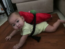 Baby Sushi Costume Tuna Maguro Sashimi and Belt - Birthday - Halloween