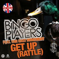 BINGO PLAYERS FEAT. FAR EAST MOVEMENT - GET UP (RATTLE)  CD SINGLE NEU