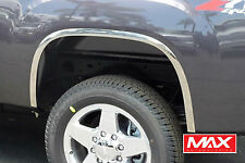 FTGM101 2007-2013 GMC Sierra 1500 CHROME PLATED Stainless Steel Fender Trim