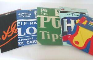 TEA TOWEL COTTON GENUINE MERCH L&P, HP, BIRD'S, McDOUGALL'S FLOUR OR PG TIPS