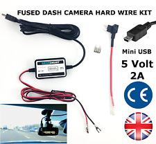 In Car DVR Dash Cam Camera Hardwire Lead Kit 5v Mini USB - Fits NextBase
