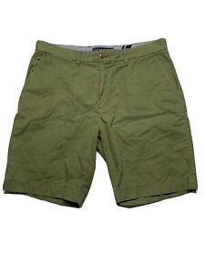 Tommy Hilfiger Green Bermuda Classic Fit Shorts Size 35