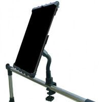 Heavy Duty C-Clamp Cross Trainer Treadmill Gym Holder for iPad PRO 12.9 (2018)