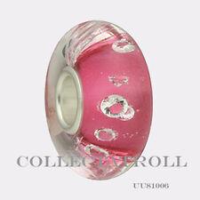 Authentic Trollbeads Universal Diamond Pink Bead Trollbead  UU81006