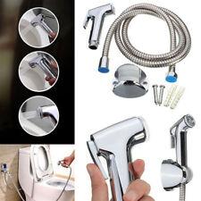 Toilet Shattaf Adapter Spray Handheld Bidet Shower Head Wall Bracket Hose Kit US
