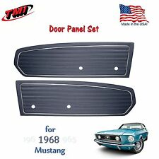 Dark Blue Door Panels For 1968 Mustang Pair by TMI-Made in the USA  In Stock!!