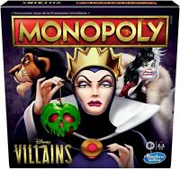 Monopoly: Disney Villains Edition Board Game - Play as a Classic Disney Villain