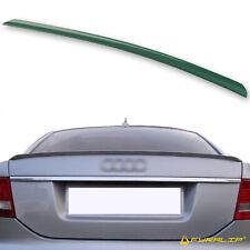 Fyralip Y22 Painted LZ6E Green Trunk Lip Spoiler For Audi A6 C6 Sedan 05-08