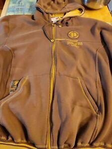 Pepe Jeans VTG London UK W11 PJL Coat/ Jacket Hooded Sz 2XL Mens