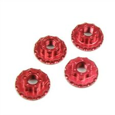 Sticky Kicks RC M4 Wheel Nuts (Red) 4pcs - SKWHLNTRED