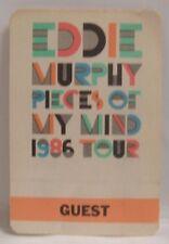 Eddie Murphy - Original Cloth Tour Concert Backstage Pass