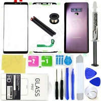 For Samsung Galaxy Note 9 N960 -Purple- Front Screen Glass Back Replacement Kit